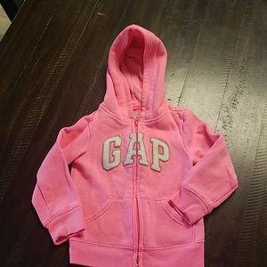 GAP Hooded Zip Up Sweatshirt